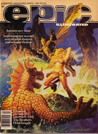 Epic Illustrated - A Marvel Magazine - April 1981