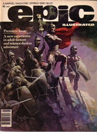 Epic Illustrated - A Marvel Magazine - Spring 1980