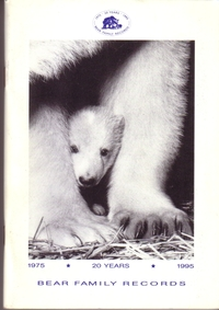 Bear Family Records - Katalog 1995 - 20 Years