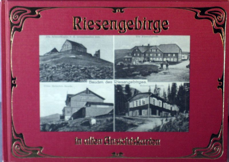 Riesengebirge in old Picture Postcards