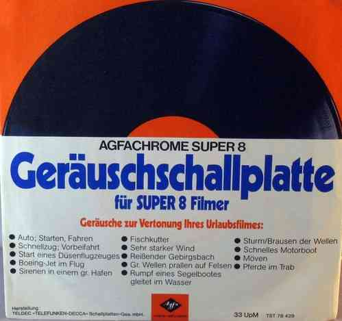Geraeuschschallplatte fuer Super 8 Filmer (Sound-Record for Super 8 Filmmakers)
