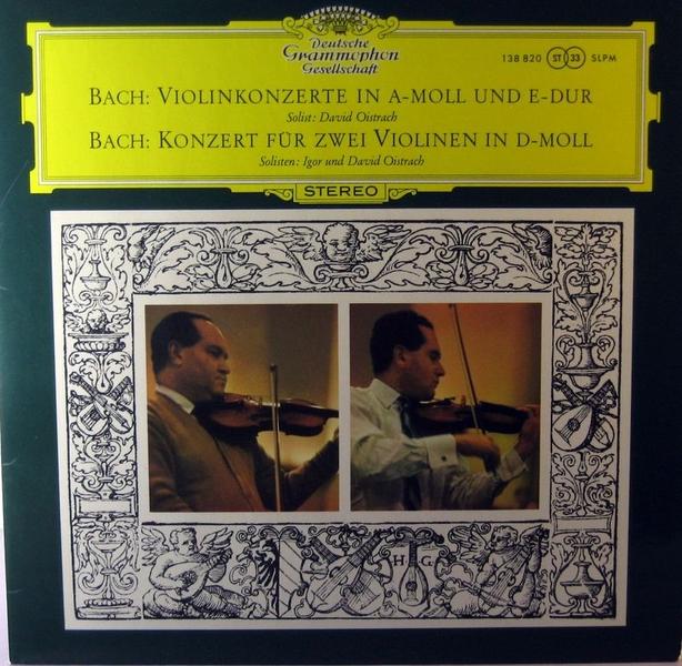 David Und Igor Oistrach Bach Beethoven Vivaldi David Und Igor Oistrach