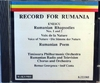 George Enescu - Record for Rumania
