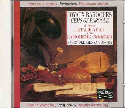 Ensemble Mensa Sonora - Gems of Baroque from Italy to Bohemia