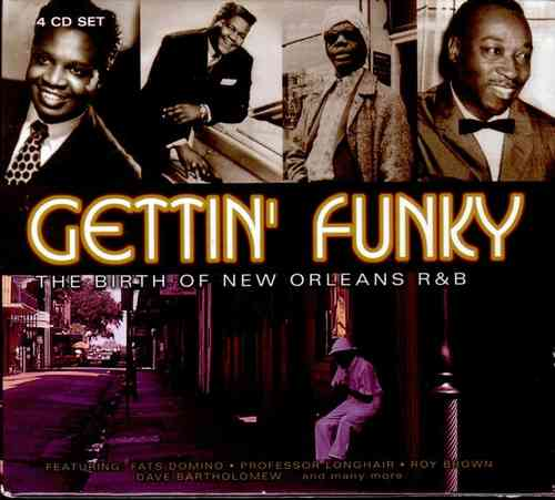 V.A. - Gettin Funky: The Birth Of New Orleans (4CD)