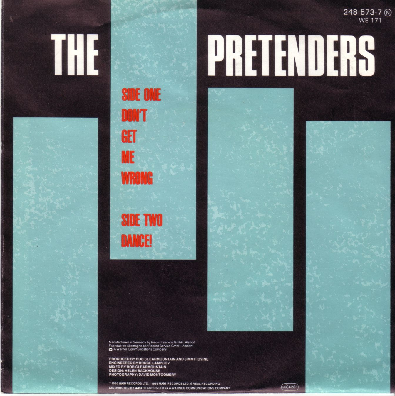 Pretenders Don T Get Me Wrong