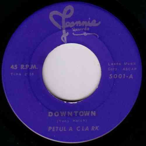 Petula Clark - Downtown / Videls - Mister Lonely