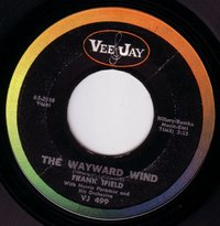 Frank Ifield With Norrie Paramor And His Orchestra - The Wayward Wind