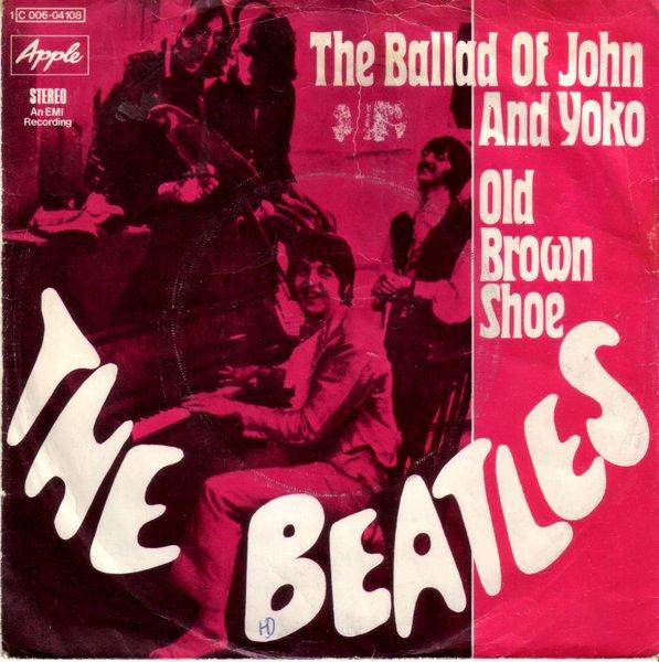 Beatles The Ballad Of John And Yoko Old Brown Shoe