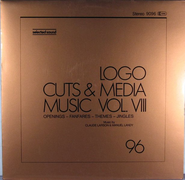 Claude Larson Manuel Landy Logo Cuts Media Music Vol VIII
