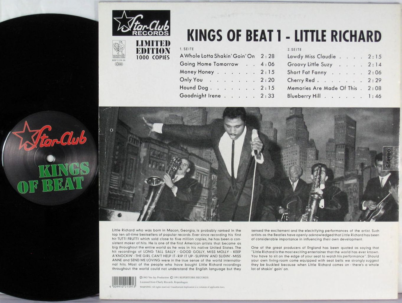 Little Richard Star Club Kings Of Beat 1