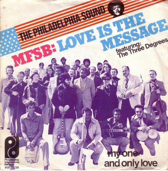 Mfsb Ft Three Degrees Love Is The Message