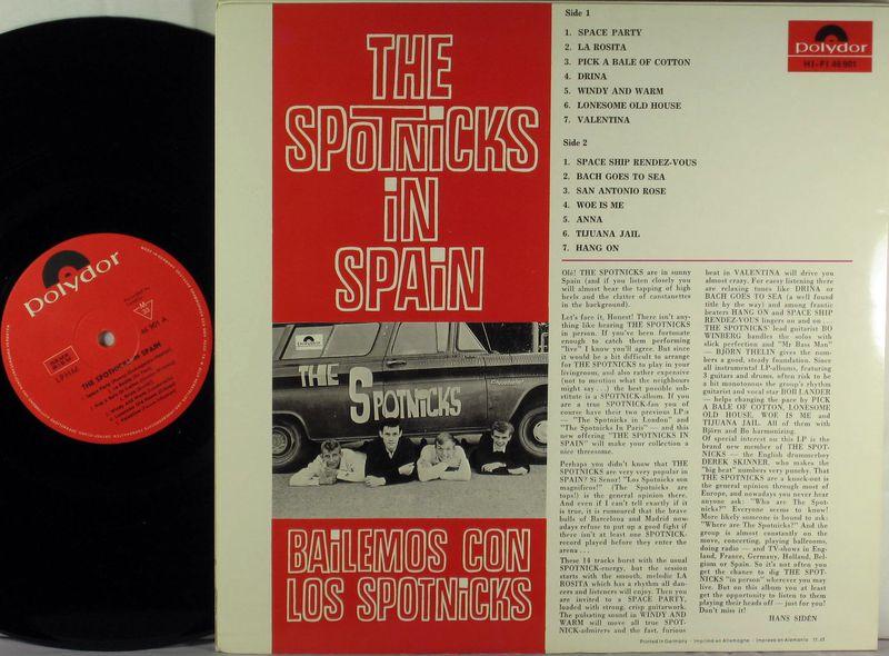 Spotnicks In Spain Bailemos Con Los Spotnicks