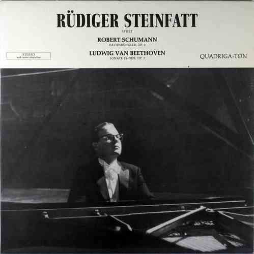 Ruediger Steinfatt - plays Schumann and Beethoven (Autograph)