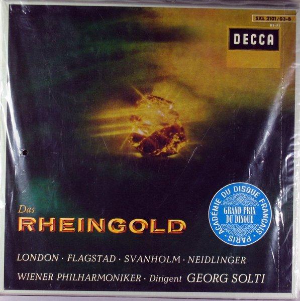 Wagner Das Rheingold Solti 3lp Box