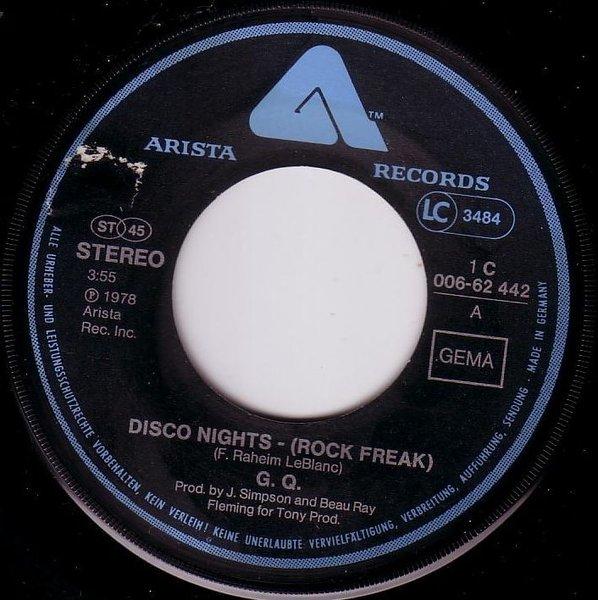 G Q Disco Nights Rock Freak Boogie Oogie Oogie
