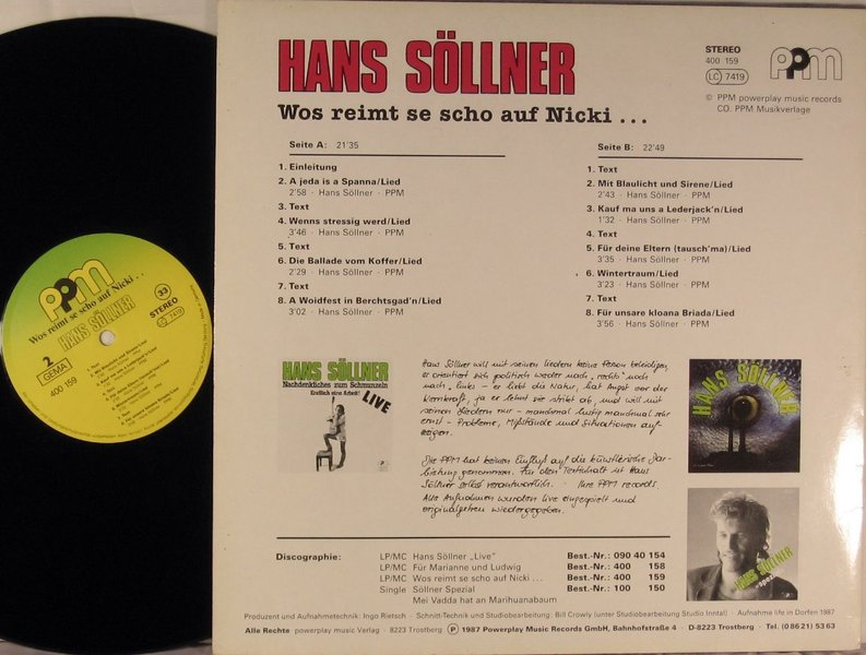hans söllner cd