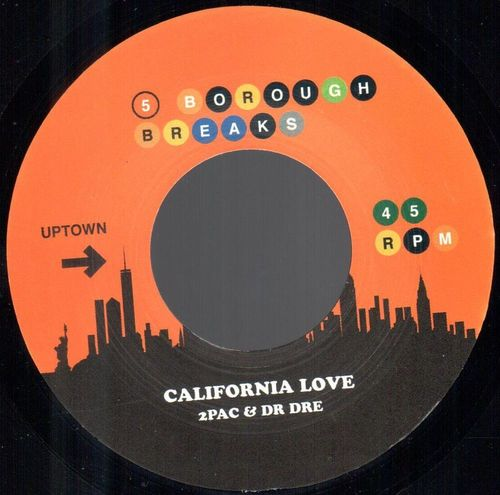2Pac and Dr Dre / Ronnie Hudson - California Love / West Coast Pop Lock
