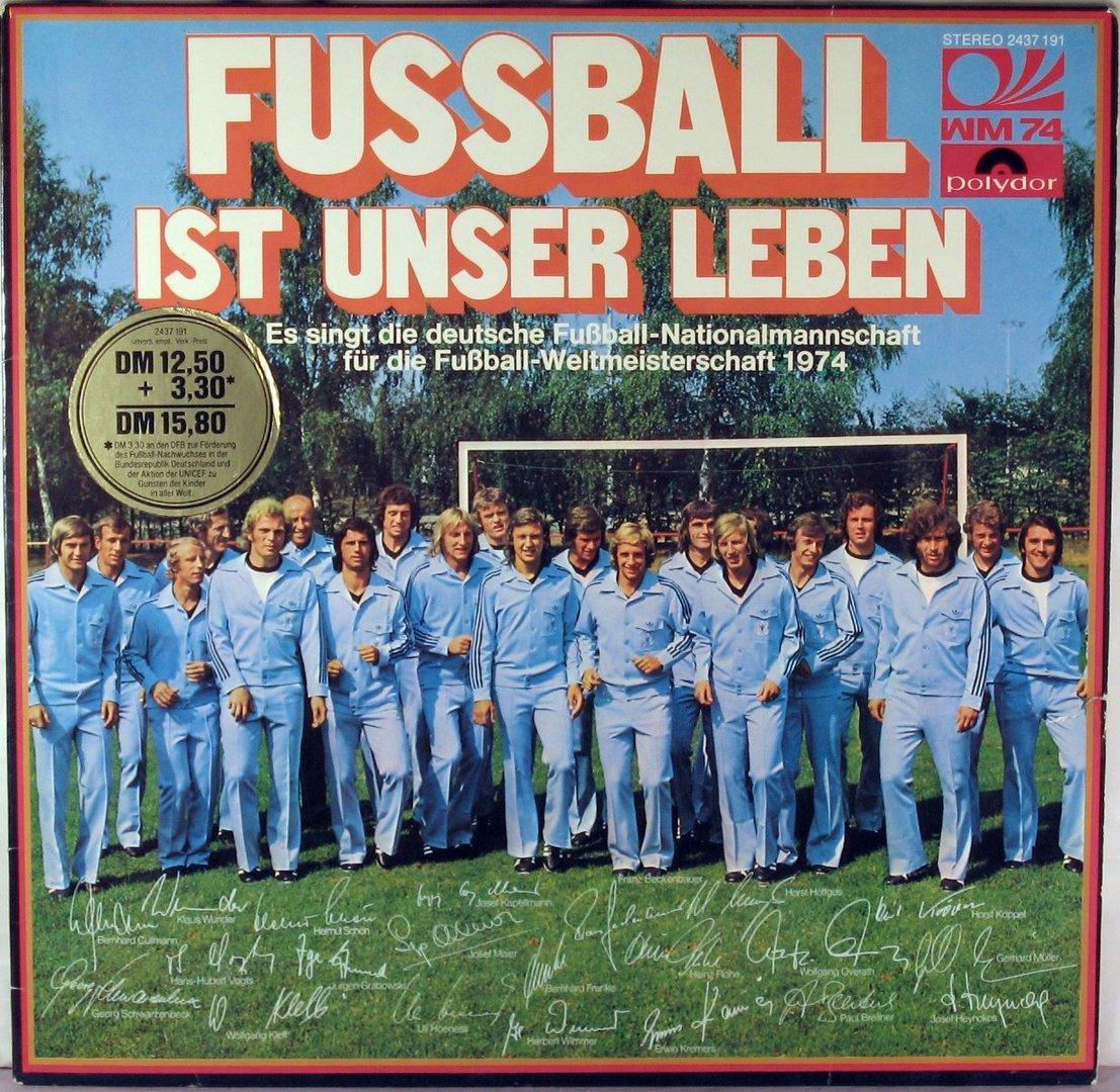 Die Deutsche Fussball Nationalmannschaft Fussball Ist Unser Leben