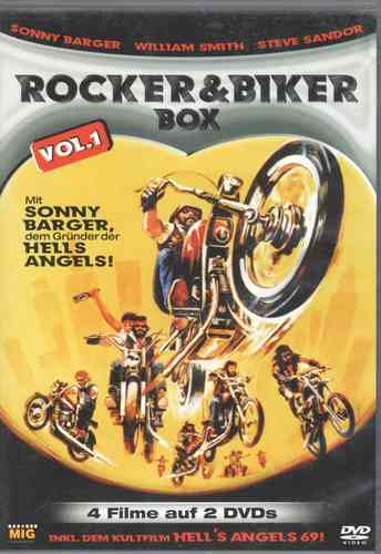 Rocker & Biker Box Vol. 1 (4 Filme, 2 DVD)